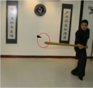 Circling Pole - HYUN1 GWAN3 — Wing Chun Elements: Glossary